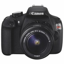 Canon EOS Rebel T5 18MP DSLR Camera with EF-S 18-55mm III DC Lens Kit  | 18MP APS-C CMOS Sensor | DIGIC 4 Image Processor | Full HD 1080p Video | 9-Point Autofocus System | 3 fps Continuous Shooting | 3