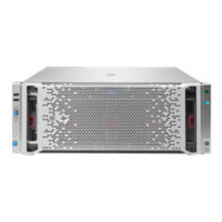 HP ProLiant DL580 Gen9 - Server - rack-mountable - 4U - 4-way - 2 x Xeon E7-8860V3 / 2.2 GHz - RAM 128 GB - SAS - hot-swap 2.5