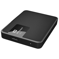 WD 3TB Black My Passport Ultra Portable External Hard Drive - USB 3.0 - WDBBKD0030BBK-NESN