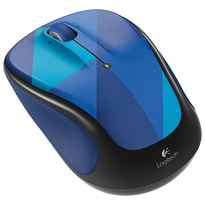 Logitech  M325 Wireless Mouse 2.4GHz w/ Nano Logitech Unifying Receiver - Blue Harlequin