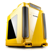 Deepcool Steam Castle Micro ATX Glossy Yellow Windowed Gaming Cube Case