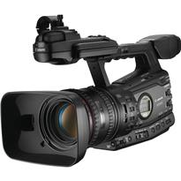 Canon XF305 - Professional Camcorder | 3 Native 1920 x 1080 CMOS Sensors | 50Mbps MPEG-2 Recording | 4:2:2 Color Sampling | 60p, 60i, 30p, 24p | MXF File Format | Dual CF Card Slots | 18x HD L-Series Zoom | HD/SD-SDI, SMPTE Time Code, Genlock