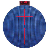 UE ROLL Bluetooth Wireless Speaker - Solid Blue Red | 360 Degree Design | Waterproof | Up to 9 hrs of Play Time