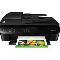 HP Officejet 4630 e-All-in-One Printer | 5.2 ppm color, 4800 x 1200 optimized dpi color |  Print | Scan | Copy | Fax | Web | Part no: B4L03A#B1H