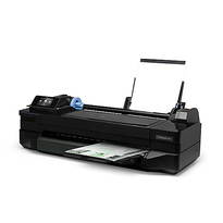 HP Designjet T120 24-in ePrinter | Print speed: 40 A1 and 40 D prints per hour | Fast Ethernet ; Hi-Speed USB 2.0 certified; Wi-Fi | Part no: CQ891A#B1K