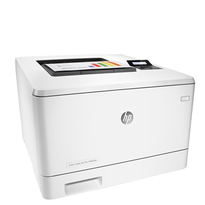 HP Color LaserJet Pro M452dn Printer | Up to 28 ppm Color- 600 x 600 dpi, Up to 38,400 x 600 enhanced dpi | Print | Copy | Scan | Fax | Connectivity: Hi-Speed USB 2.0 port; built-in Gigabit Ethernet 10/100/1000 Base-TX network port; Easy-access USB | Part no: CF389A#BGJ