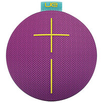 UE ROLL Bluetooth Wireless Speaker - Violet Aqua | 360 Degree Design | Waterproof | Up to 9 hrs of Play Time