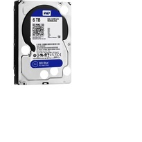 WD Blue 6TB Desktop Hard Disk Drive - 5400 RPM SATA 6 Gb/s 64MB Cache 3.5 Inch - WD60EZRZ
