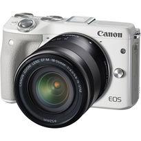 Canon EOS M3 Mirrorless Digital Camera with 18-55mm Lens  | 24.2MP APS-C CMOS Sensor | DIGIC 6 Image Processor | 3.0
