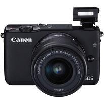 Canon EOS M10 Mirrorless Digital Camera with 15-45mm Lens  | 18.0MP APS-C CMOS Sensor | DIGIC 6 Image Processor | 3.0