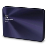WD 1TB Blue-Black My Passport Ultra Metal Edition Portable External Hard Drive - USB 3.0 - WDBTYH0010BBA-NESN