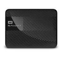 WD 2TB My Passport X for Xbox One Portable External Hard Drive - USB 3.0 - WDBCRM0020BBK-NESN