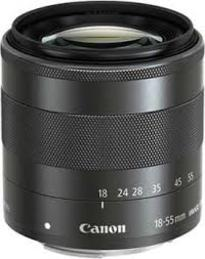 Canon EF-M 18-55MM F3.5-5.6 IS STM LENS | Standard Zoom | Stepping Motor | Dynamic IS