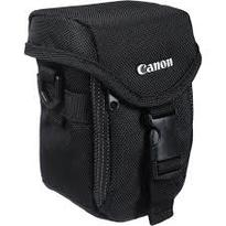 Canon Camcorder Case  | For Digital Camcorder and Accessories | Water-Repellant | Front Zippered Pocket | 2 Pockets for Memory Cards