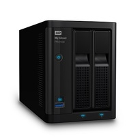 WD Diskless My Cloud Pro Series PR2100 Network Attached Storage - NAS - WDBBCL0000NBK-NESN