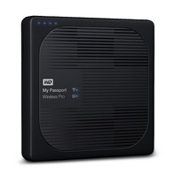 WD 3TB My Passport Wireless Pro Portable External Hard Drive - WiFi AC, SD, USB 3.0 - WDBSMT0030BBK-NESN
