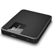 WD 4TB My Passport Ultra-Portable External Hard Drive Classic Black- WDBBKD0040BBK-NESN