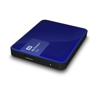 WD 4TB My Passport Ultra-Portable External Hard Drive Noble Blue- WDBBKD0040BBL-NESN