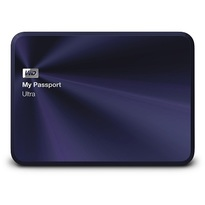 WD 4TB My Passport Ultra Metal Edition-Portable External Hard Drive Blue-Black- WDBEZW0040BBA-NESN