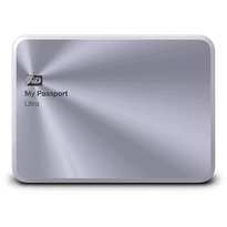 WD 4TB My Passport Ultra Metal Edition-Portable External Hard Drive Silver- WDBEZW0040BSL-NESN