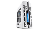Deepcool Genome II Liquid Cooling ATX White Case with Blue Helix Windowed Mid Tower|preinstalled with 360mm liquid cooling system