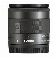 Canon EF-M 11-22mm f/4-5.6 IS STM Lens | EF-M Mount Lens/APS-C Format | 18-35mm  | Aperture Range: f/4.5-32 | Two Aspherical Elements, One UD Element | Dynamic Image Stabilization | Spectra Coatings | Built-In Stepping Motor