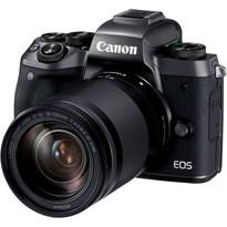 Canon EOS M5 Mirrorless Digital Camera with 18-150mm Lens | 24.2MP APS-C CMOS Sensor | DIGIC 7 Image Processor | 3.2