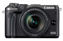 Canon EOS M6 Mirrorless Digital Camera with 18-150mm Lens  | 24.2 Megapixel CMOS  Sensor | DIGIC 7 Image Processor, ISO 100�25600 | Combination IS with 5-axis Image Stabilization* | High-speed Continuous Shooting at up to 7.0 fps  | Built-in Wi-Fi**, NFC*** and Bluetooth^ | Intuitive Touch Screen, 3.0-inch Tilt-type LCD