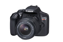 Canon EOS Rebel T6 18MP DSLR Camera with EF-S 18-55mm III DC Lens Kit | 18MP APS-C CMOS Sensor | DIGIC 4 Image Processor | Full HD 1080p Video | 9-Point Autofocus System | 3 fps Continuous Shooting | 3