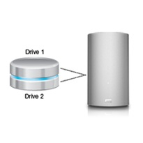 WD My Book Thunderbolt 8TB Dual Drive