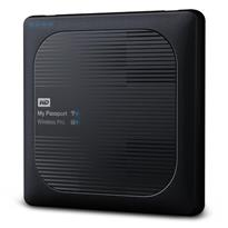 WD 4TB My Passport Wireless Pro Portable External Hard Drive - WiFi AC, SD, USB 3.0 - WDBSMT0040BBK-NESN