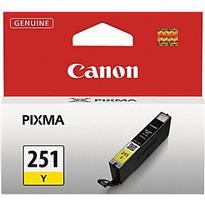Canon CLI-251Y Ink Cartridge - Yellow