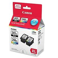 Canon PG-245 XL / CL-246 XL Black and Color Ink Cartridge Value Pack