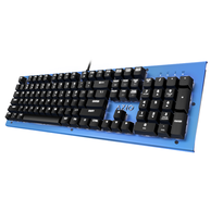 Azio Backlit Mechanical Keyboard Blue