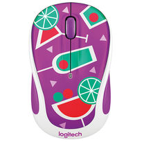 Logitech M325 Wireless Mouse, Cocktail