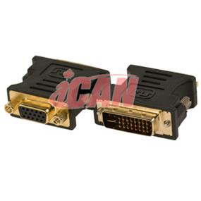 iCAN DVI-A to VGA Adapter M/F (for PC to Analog Digital Video Interface LCD) (ADP DVIAM-HD15F)