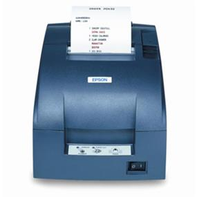 Epson TM-U220D POS Receipt Printer (C31C518653)  Gray, Parallel, Tear Bar. Cover and PS-180 Power Supply  included