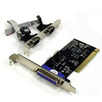 Bytecc BT-P2S1P 2 Ports Serial + 1 Port Parallel Combo PCI Card