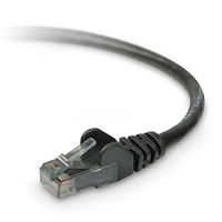 Belkin CAT6 Patch Snagless Cable, Black (A3L980-05-BLK-S) - 5 ft.