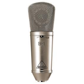 Behringer Single Diaphragm Condenser Microphone B-1 - Gold-Sputtered Large-Diaphragm Studio Condenser Microphone