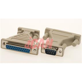 iCAN DB9 Male/DB25 Female Adapter (ADP 9M25F)