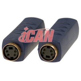iCAN S-Video MDIN4 Female/Female Adapter (ADP SVDO-FF)