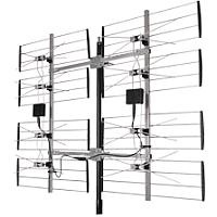 Digiwave ANT-7285 | 8 Bay Ultra Clear Outdoor HD TV Digital Antenna | Channels: Ch. 14-69