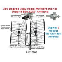 Digiwave ANT-7288 | 360 Degree Adjustable Multidirectional Super 8 Bay HDTV Antenna