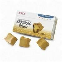 Xerox Yellow 3 Sticks Solid Ink (108R00671) For Phaser 8500/8550