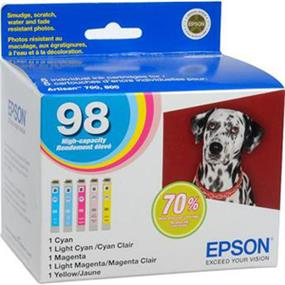 Epson 98 XL Tri-Color Ink Cartridge (T098920-S)