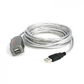 StarTech USB 2.0 Active Extension Cable - 15 ft (USB2FAAEXT15)