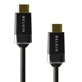 Belkin High Speed HDMI Cable with Ethernet - Full HD 3D 1080p, 10.2 Gbps+ (AV10050-12) - 12 ft.