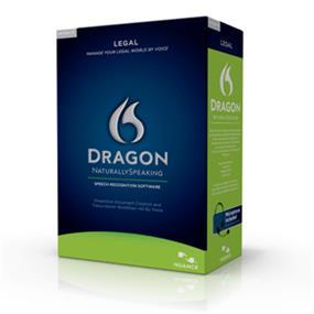 Nuance Dragon NaturallySpeaking v.11.0 Legal Edition w/ Headset