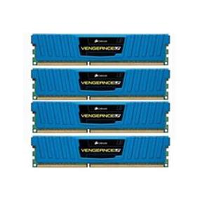 Corsair Vengeance Low Profile Blue 16GB (4x4GB) DDR3 1600MHz CL9 1.5V DIMM (CML16GX3M4A1600C9B)